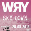 wry + sky down