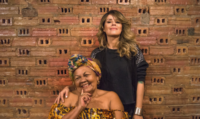 Sammliz e Dona Onete (Foto – Liliane Moreira)