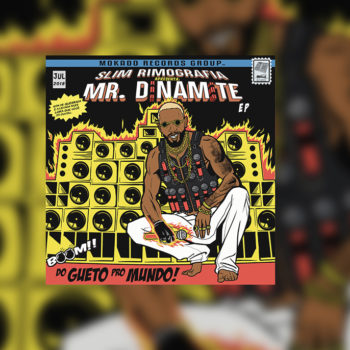 Slim Rimografia – Mr. Dinamite (Capa – César Martins) 2