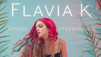 Flavia K – capa Janelas Imprevisíveis (por Johnny Moraes)